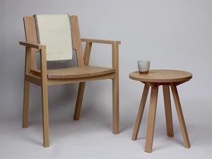 Barrington Armchair by Matt Taylor - Chair, Armchair, Oak, Modern, Scandinavian Style, Australian Made, Local Design