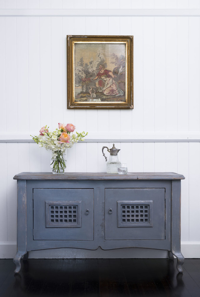 French Grey Side Tables by Dorset Bottega - Bedside Table, Sideboard, Side Table, Cabinet