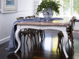 Large Dining Table by Dorset Bottega - Table, Dining Table, Oak, Oak Dining Table, Large Dining Table, French Dining Table, French Style, French Style Table, 10 Seat Table, 8 Seater Table