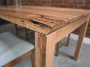 Wormy Chestnut Dovetail Table by Patrick Holcombe - Hardwood, Dining Table, Chestnut, Australian, Timber, Dovetail, Minimal, Simple, Handmade, Custom