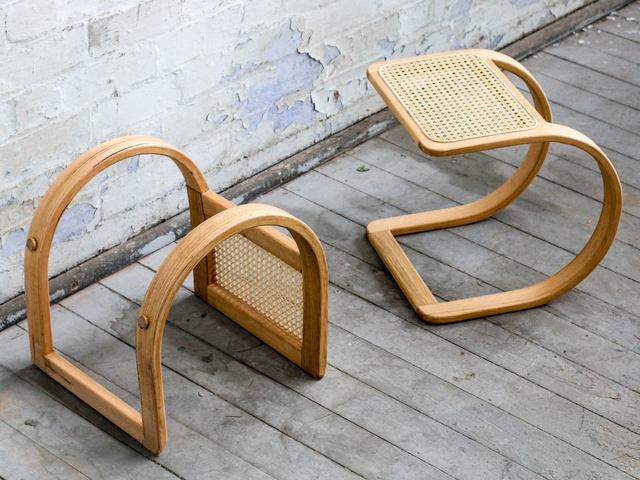 Ralph Stool by Heimur - Stool, Rattan