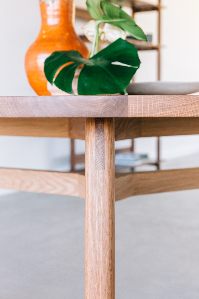 Ari Dining Table by Jeremy Lee - Table, Dining Table, Oak, Wood, Timber, Sustainable, Natural, Jdlee