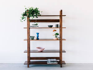 Dali Shelves by Jeremy Lee - Shelves, Display, Walnut, Wood, Timber, Sustainable, Natural, Jdlee