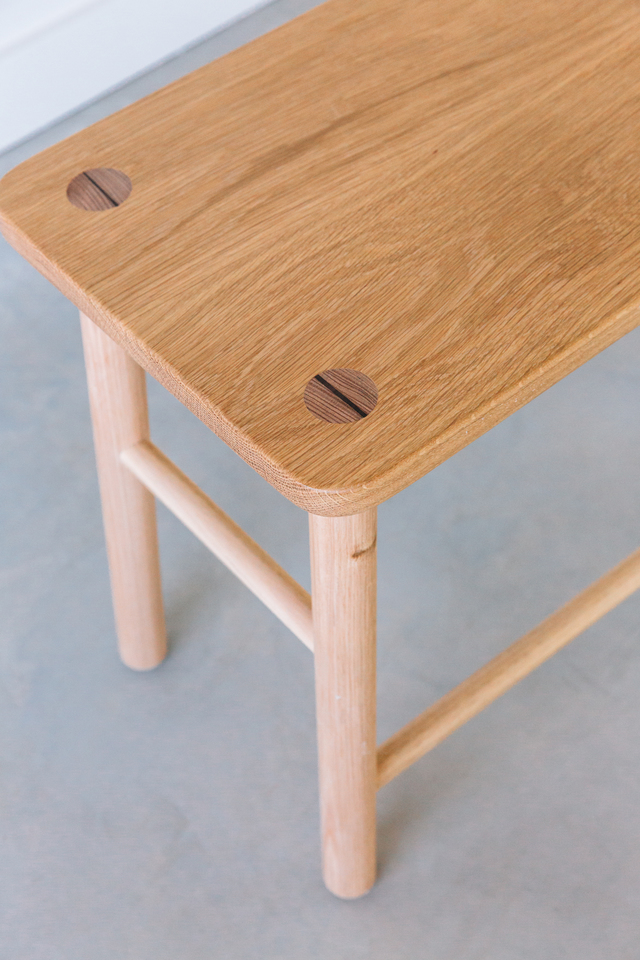 Big Z Stools by Jeremy Lee - Bar Stool, Design, Oak, Handmade, Furniture, Sustainable, Stoo, Bench, Wood, Timber