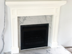 Fireplace Surrounds by Dorset Bottega - Fireplace, Fireplace Surround, Over Mantle, Mantle Piece, Shelf, Fireplace Shelving, Decorative Surround, Wall Paneling