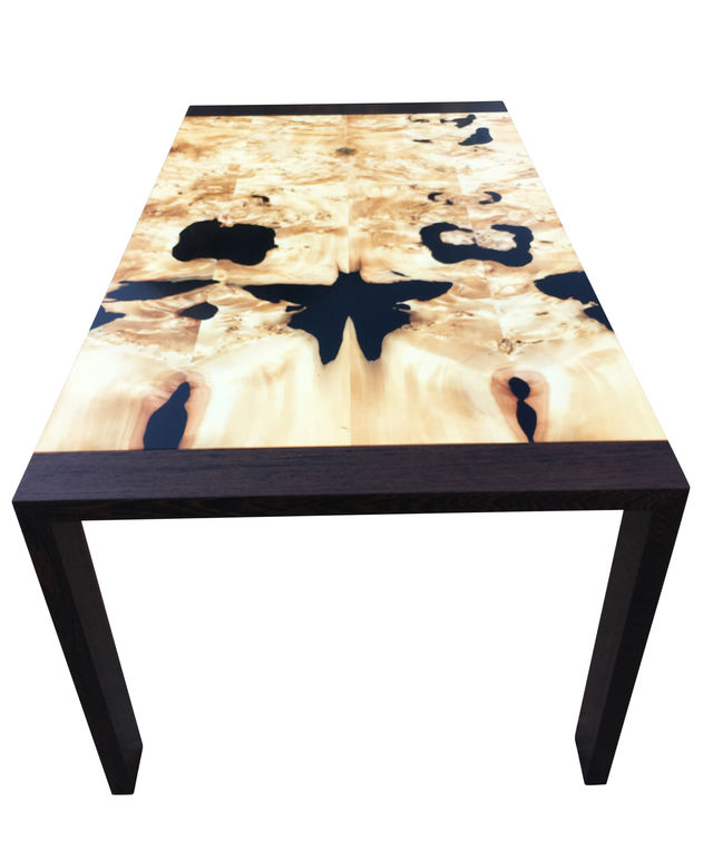 The Butterfly Effect - Modern Minimalist Contemporary Resin Dining Table by Will Marx - Minimalist, Solid Timber, Designer Table, Signature Desk, Dining Table, Boardroom Table, Hardwood, Contemporary Furniture, Huon Pine, Wenge