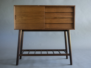 Cove Cabinet by Reuben Daniel - Blackwood, Mid Century Modern, Mid Century, Cabinet
