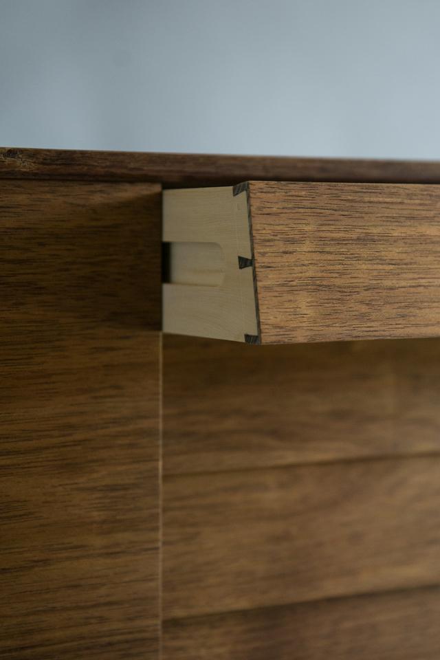 Cove Cabinet by Reuben Daniel - Blackwood, Mid Century Modern, Mid Century, Cabinet