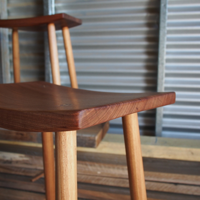 Stools by Reuben Daniel - Stool, Blackwood, Seating, Kitchen Stool