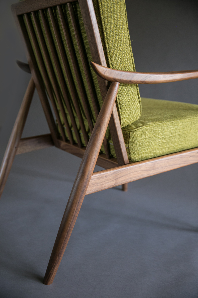 Dansk Chair by Reuben Daniel - Mid Century Modern, Mid Century, Walnut, Chair, Danish