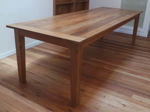 Kate's table by The Bower Woodworks - Reclaimed Timber, Wood, Dining Table, Hardwood, Recycled, Breadboard