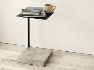 Counterweight Side Table by Stance Studio - Side Table, Minimal, Concrete, Refined