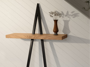 Leaning Table by Stance Studio - 2 Legged Table, Hall Table, Sculptural, Architectural