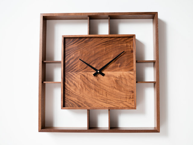 Square Clock by Harelle Design - Clock