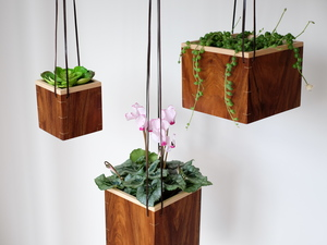 Hanging Plant Boxes by Harelle Design - Pot Plant, Planter, Hanging Planter