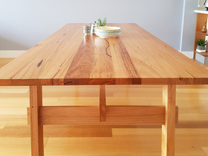Good Times table by Ruben Made - Dining Table, Table, Kitchen Table, Messmate, Plywood, Vic Ash