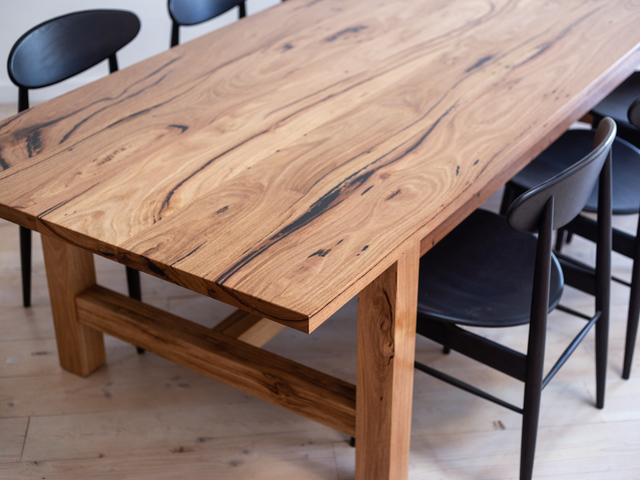Farmhouse Recycled Timber Dining Table by Retrograde Furniture - Recycled Timber, Dining Table, Rustic, Farmhouse