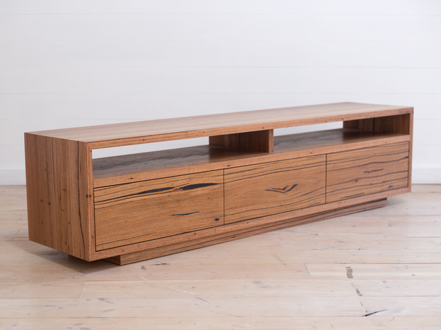 Lo Pro Recycled Timber Entertainment Unit by Retrograde Furniture - Recycled Timber, Entertainment Unit, Media Console, Buffet, Sideboard