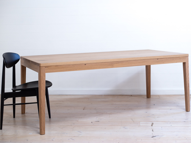 Mayfield American White Oak Dining Table by Retrograde Furniture - American Oak, Dining Table, Modern