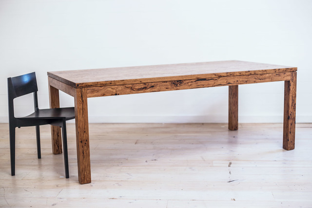 Falconer Birdseye Stringybark Dining Table by Retrograde Furniture - Recycled Timber, Birdseye Stringybark, Dining Table, Rustic