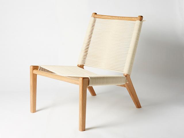 Frayed Lounge Chair by Alex Gaetani - Seating, Texture, Minimal