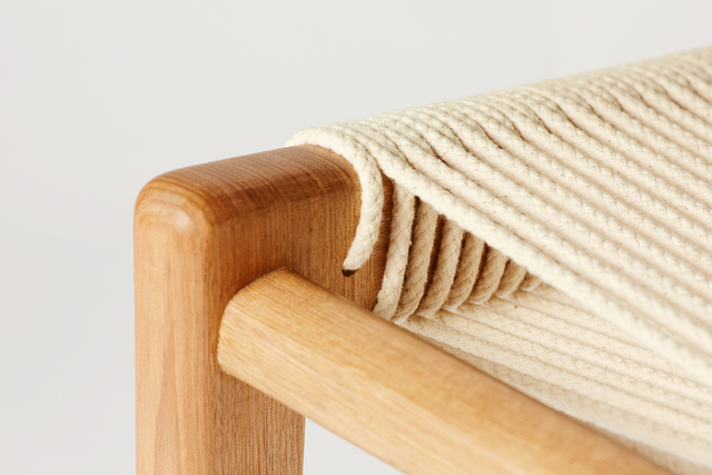 Frayed Lounge Chair by Alex Gaetani - Seating, Texture, Minimal