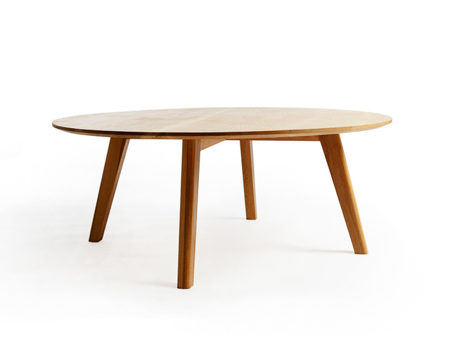 Lou Coffee Table by Alex Gaetani - Coffee Table, American Oak, Minimal