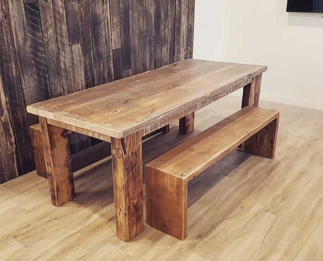 Dining Table by Mitch Bourdeau - Reclaimed Timber