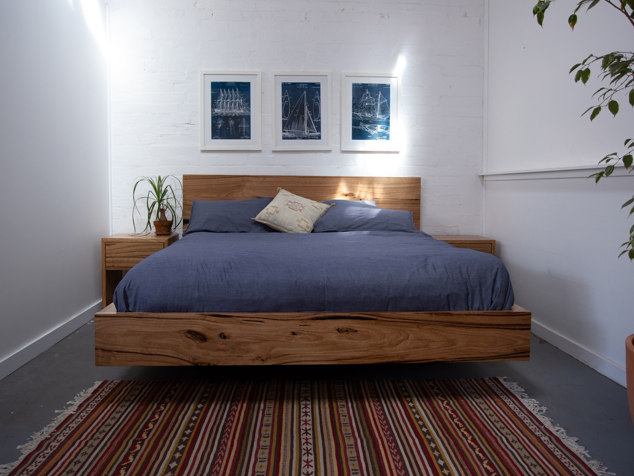 Paul s Messmate Timber Floating Bed 2