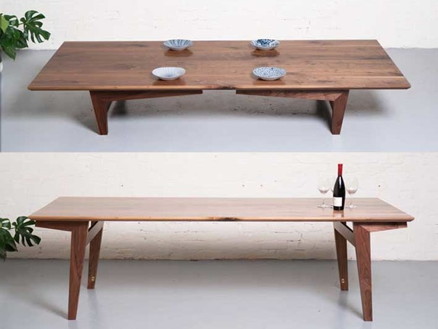 NiBunka Table by Ruben Made - Japanese Table, Chabudi, Japanese Style, Dining Table