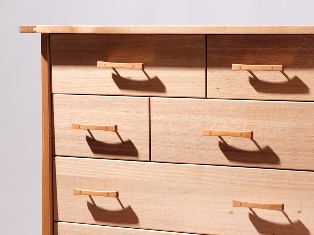 Chest of Drawers by Damion Fauser - Drawers, Chest Of Drawers, Fine Furniture, Victorian Ash