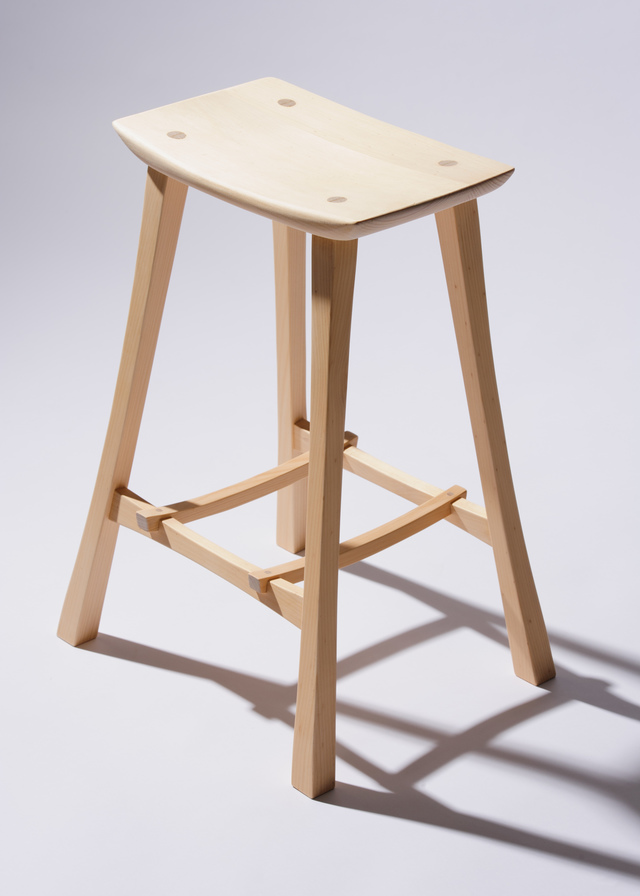 Asian Stool by Damion Fauser - Stool, Stools, Kitchen Stools, Bar Stools
