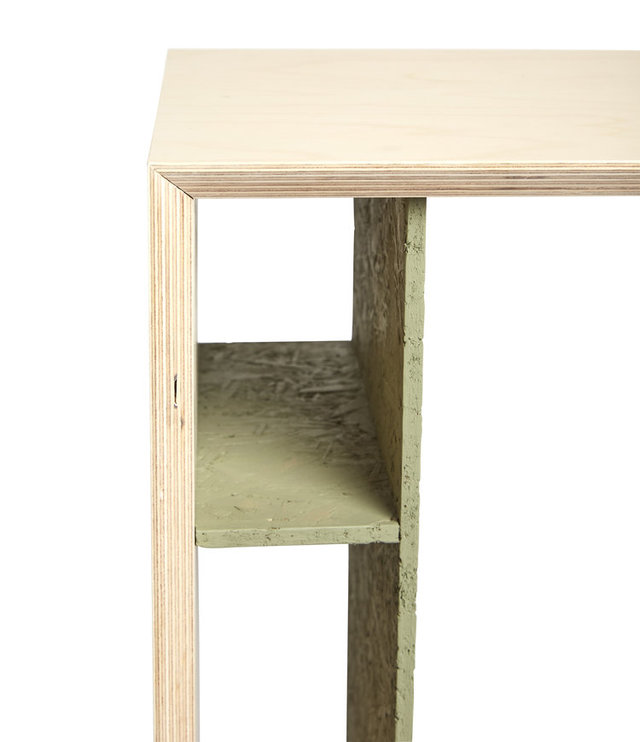 Charli Side Table by So Watt - Cantilevered, Storage, Living Room, Bedroom, Plant Stand, Armrest