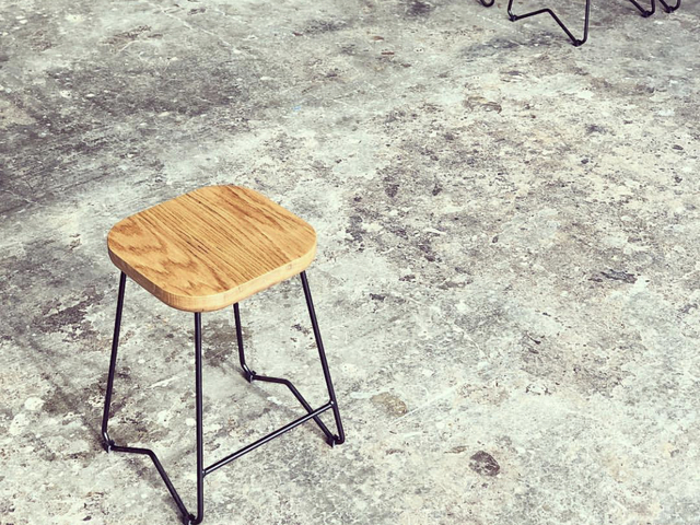 LA STOOL by Blackwood Collective - Stools, Timber