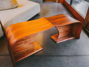 Vine Coffee Table | Tasmanian Blackwood Coffee Table by Will Marx - Solid Timber, Australian Timber, Custom Made, Contemporary, Mid Century, Retro, Designer Table, Coffee Table, Tuscan Wood
