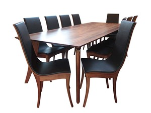 The Vine | Tasmanian Blackwood Dining Suite by Will Marx - Solid Timber, Australian Timber, Tasmanian Blackwood, Custom Made, Contemporary, Dining Suite, Dining Set, Boardroom Table, Mid Century, 8 Seater