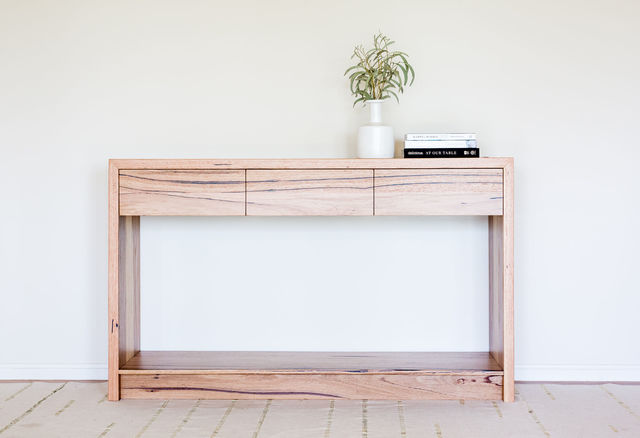 Hall Stand  by Hold Fast Designs - Hall Stand, Recycled Timber, Custom Made, Messmate Timber, Made To Order