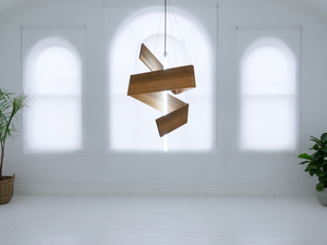 shiva by Luke  Neil - Pendant, Lighting, Timber, Reclaimed, Lights