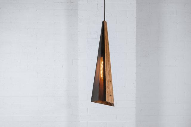 Arrow by Luke  Neil - Timber, Metal, Lighting, Pendant Light, Reclaimed