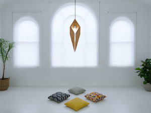 The Unknown  by Luke  Neil - Lighting, Timber, Lights, Pendant