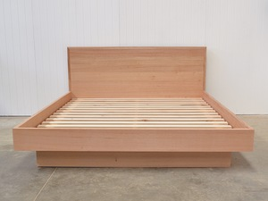 Lucinda Bed Frame by Jake Williamson - Bed, Timber, Melbournenmade