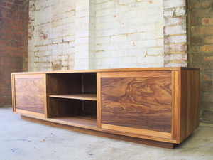 Hosking Sideboard by Lloyd Anderson - Sideboard, Entertainment Unit, Blackwood, Storage, Sliding Doors, Handmade, Bespoke Sideboard