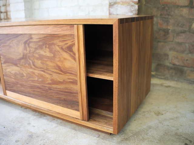 Hosking Sideboard by Lloyd Anderson - Sideboard, Entertainment Unit, Blackwood, Storage, Sliding Doors, Handmade, Bespoke Sideboard