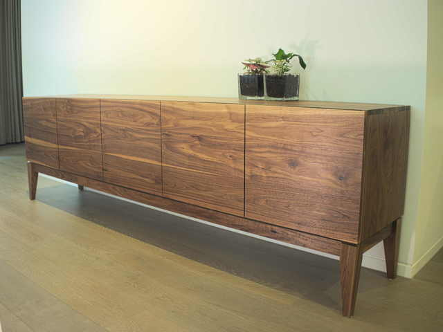 Luna Sideboard by Lloyd Anderson - Sideboard, Entertainment Unit, Storage, Shelving, Living Room, Interioir, Buffet, Credenza, Handmade, Bespoke