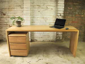 Melissa Desk and Drawers by Lloyd Anderson - Desk, Drawers, Office, Study, Homework, Storage Office, Handmade, Bespoke