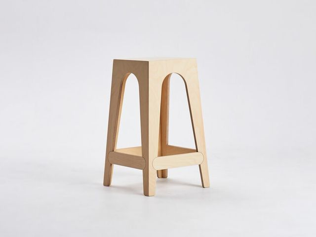 Taller Stool by Dustin Fritsche - Bar Stool, Cafe Stool, High Stool