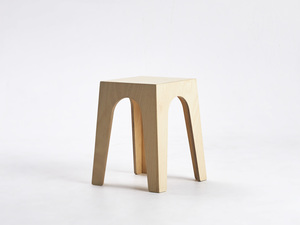 Shorter Stool by Dustin Fritsche - Cafe Stool, Stackable Stool, Stacking Stool, Low Stool