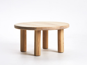 Rounder Coffee Table by Dustin Fritsche - Coffee Table, Round Coffee Table, Timber Coffee Table