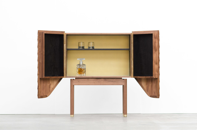 Veil Drinks Cabinet by Matt Pearson - Drinks, Drinks Cabinet, Liquor, Bar, Barcart, Drinks Trolley, Cart, Alcohol