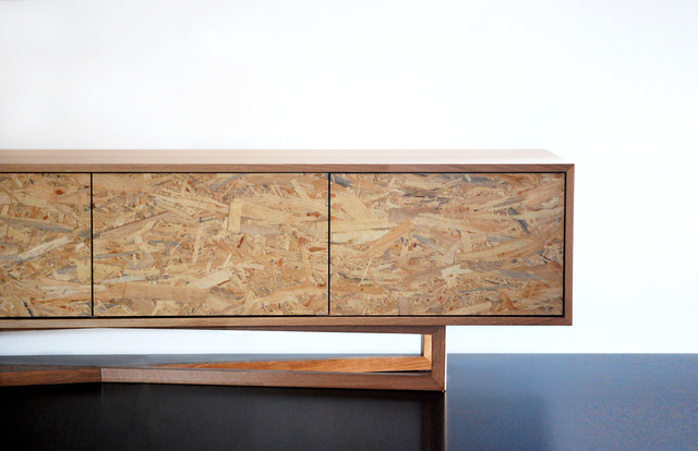 Yui Cabinet  by Raw Edge Furniture - American Oak, Dining Table, Dining, Oak, Cabinet, Braceboard, Oak Cabinet, Sideboard